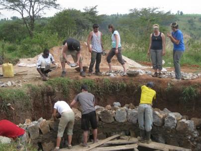 Working in Karagwe