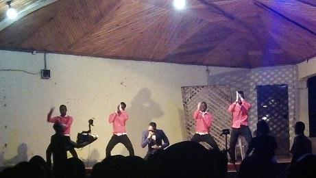 Concert in Tanzania