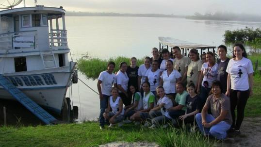 Amizade volunteers in Brazil
