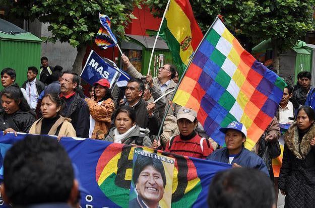bolivia march