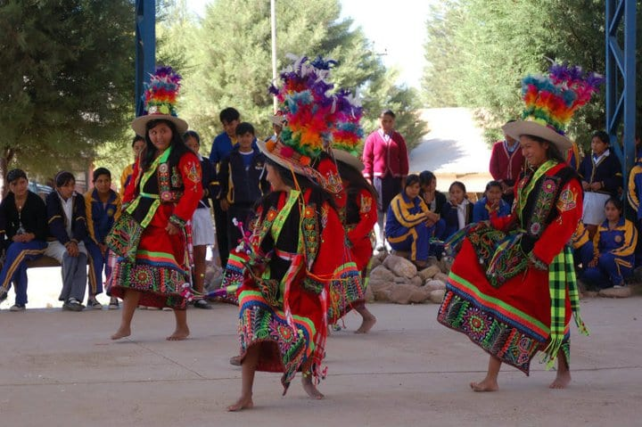 Bolivian Dancing Summer 2011