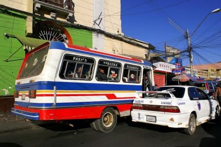 Cars in Bolivia