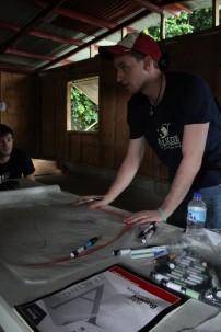 Amizade volunteers in Matelot, Trinidad & Tobago