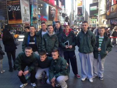 Northern Irish Youth Visiting New York with Amizade