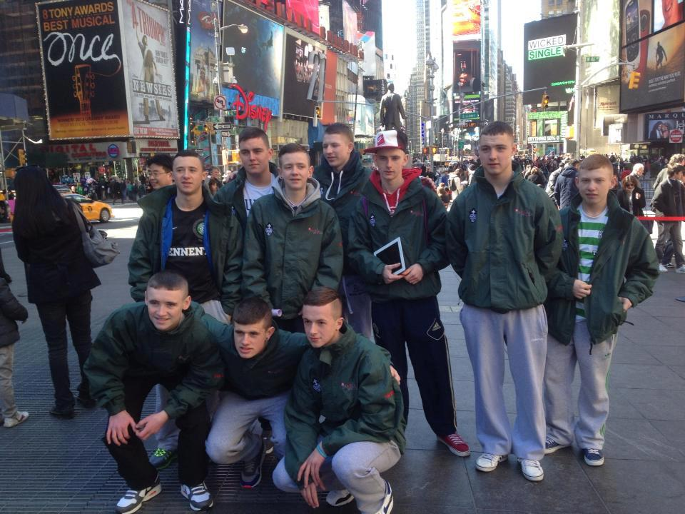 Participants from Northern Ireland in New York City