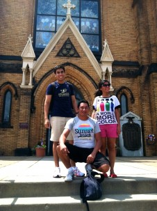 Amizade volunteers from Brazil visit Pittsburgh