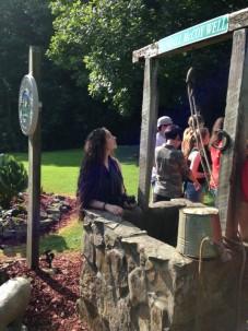 Amizade volunteers visit the Randall McCoy Well