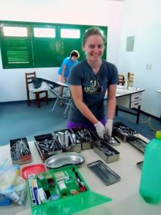 Volunteering at Pastoral do Menor