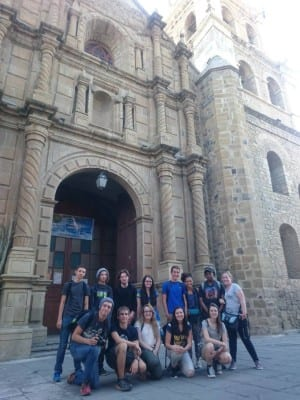 Visiting the Cathedral
