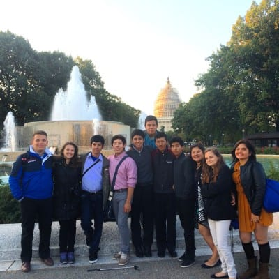 Youth Ambassadors in DC