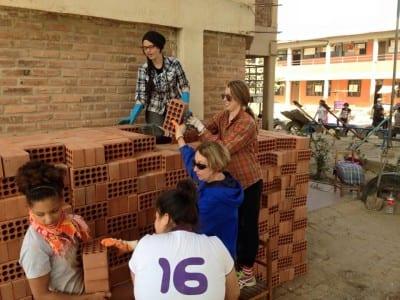 Brick stacking