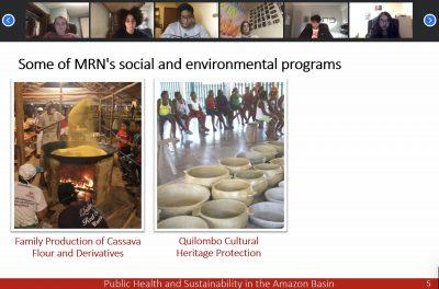 Virtual service-learning program at Amizade
