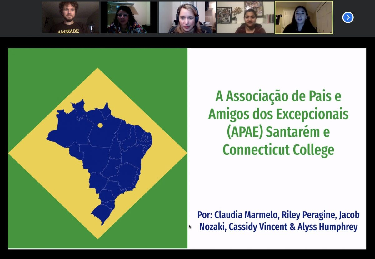 Virtual service-learning in Brazil