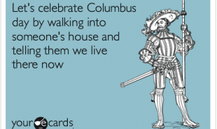 Amizade dumps Columbus Day