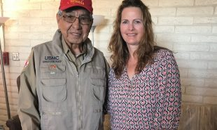 Meeting with a Navajo Code Talker