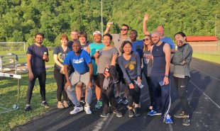 Appalachian community partner runs 400 miles in one month!