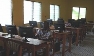 A New Computer Room for the People of Jukwa, Ghana